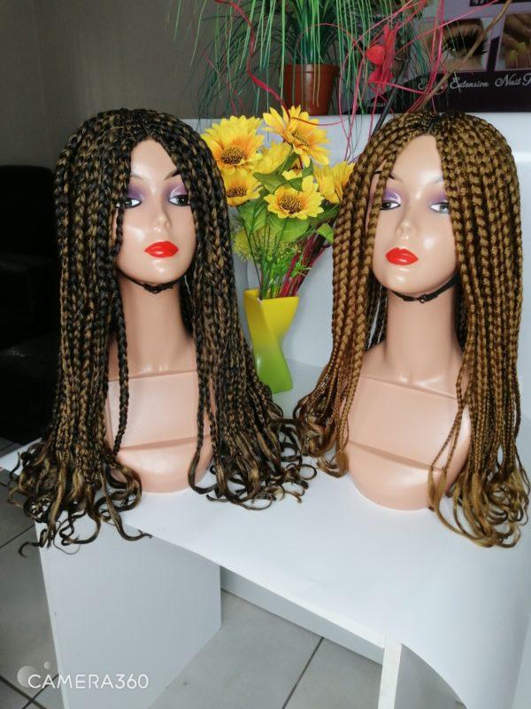 Loose braid hair unit (combo)