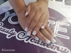 clear nails 5
